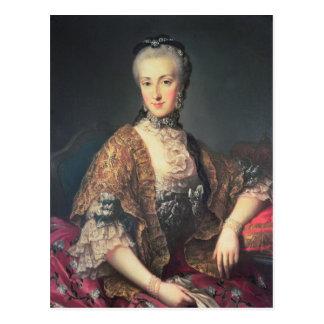ArchduchessマリアアナハプスブルクLothringen ポストカード