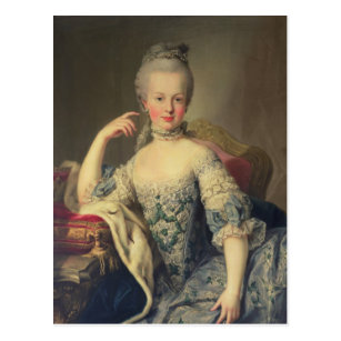 Archduchess Marieアントワネット ポストカード