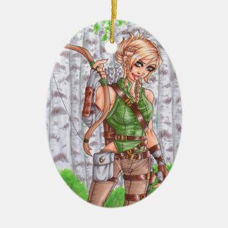 Archer Ornament女性 セラミックオーナメント