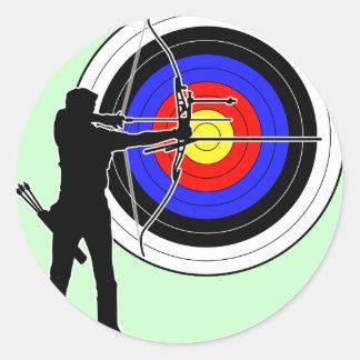 archery2 ラウンドシール