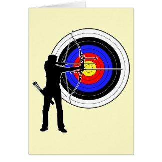 archery2 グリーティング・カード