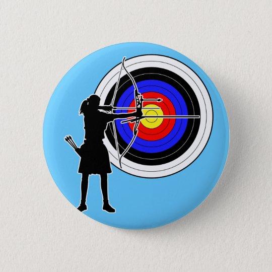 Archery3 5.7cm 丸型バッジ