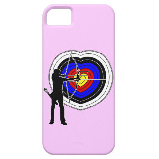 Archery heart-target1 iPhone SE/5/5s ケース