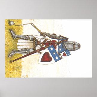 Archibaldダグラスの騎士ポスター ポスター