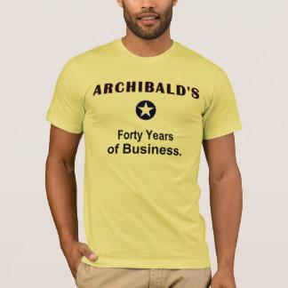 ARCHIBALD第40の記念日のワイシャツ Tシャツ