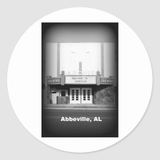 ARCHIEの劇場-アブビル、アラバマ ラウンドシール