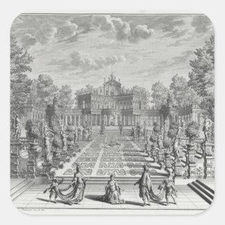 、「Architectuからの庭のオペラのために置きます スクエアシール