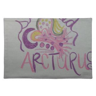 Arcturian Starseedの軽い言語記号 ランチョンマット