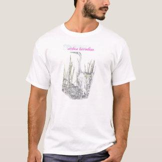 ardeaのherodias tシャツ