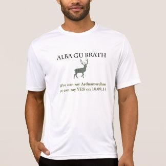 Ardnamurchanのスコットランドの独立Tシャツ Tシャツ