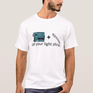 Arduino + RGB LED =インスピレーション Tシャツ