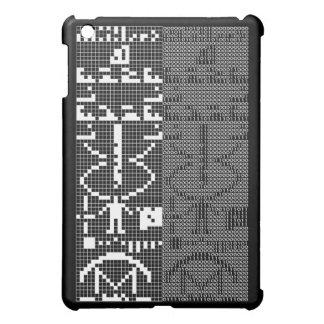 Arecibo_Message iPad Miniカバー