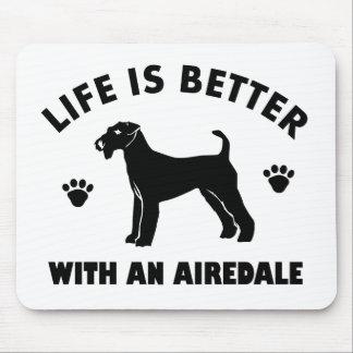 aredaleテリア犬のデザイン マウスパッド