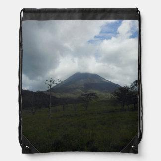 Arenalの火山 ナップサック