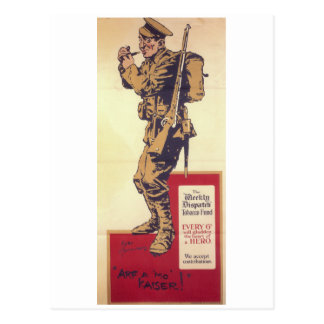 Arf mo Kaiser! (1914年の) _Propagandaポスター ポストカード