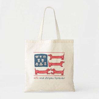 Arfsは及び永久に縞で飾りますトートバック(さまざまなスタイル)を トートバッグ