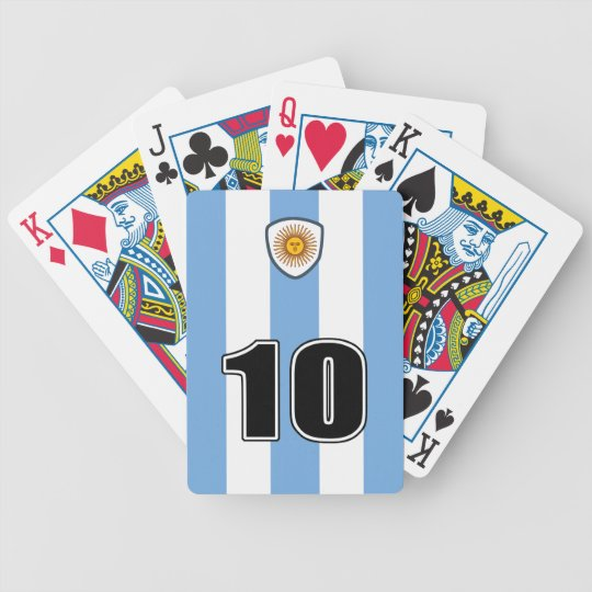 Argentina soccer バイスクルトランプ
