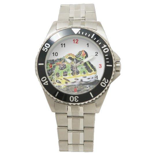 Argentine horned frogの腕時計 腕時計