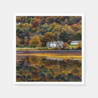 Argyllのスコットランドの高地 スタンダードカクテルナプキン