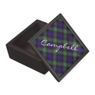 Argyllのスコットランド人の格子縞のキャンベル ギフトボックス