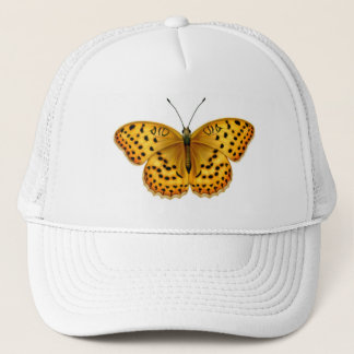 ArgynnisのFritillaryの蝶網の帽子 キャップ