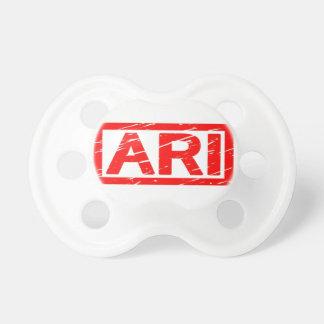 Ariのスタンプ おしゃぶり