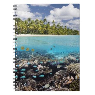 Ariの南環礁の熱帯礁湖 ノートブック