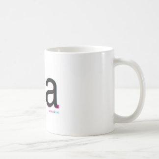 arial茶対helvetica コーヒーマグカップ