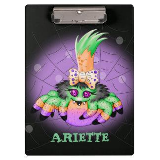ARIETTEのくものハロウィンのクリップボード2 クリップボード