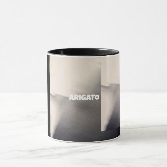 ARIGATO  shadow mag マグカップ