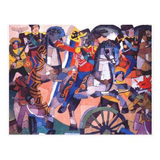 Aristarkh Lentulov著勝利の戦い ポストカード