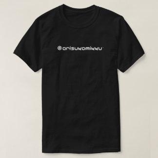ARISUKOMIKKUの雲のロゴの暗闇のTシャツ Tシャツ