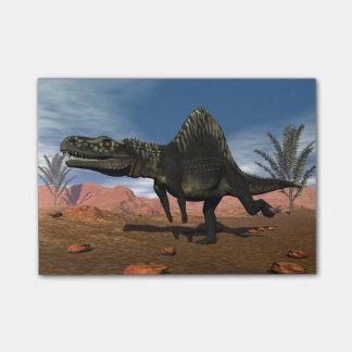 Arizonasaurusの恐竜- 3Dは描写します ポストイット
