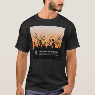 Arkhamの技術の陸上競技 Tシャツ
