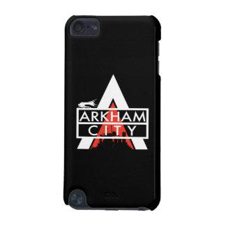 Arkham都市ロゴの白 iPod Touch 5G ケース