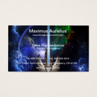 Arklediousの宇宙の名刺の天使の翼の剣 名刺