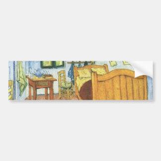 Arlesのゴッホの寝室 バンパーステッカー