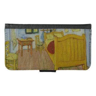 Arlesのゴッホの寝室 Galaxy S6 ウォレットケース