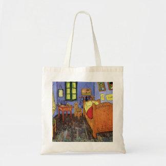 Arlesのファインアートのゴッホヴィンチェンツォの寝室 トートバッグ