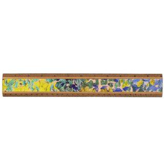 Arlesの花柄のファインアートのゴッホの花園 定規