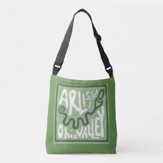 ARLIS/NA Ohio Valleyの蛇の小山のCrossbodyのバッグ クロスボディバッグ