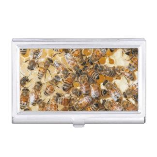 Arloの蜂蜜の農場で保っている蜂 名刺入れ