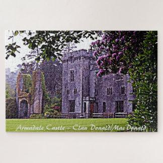 Armadaleの城-一族ドナルドかMacDonald ジグソーパズル