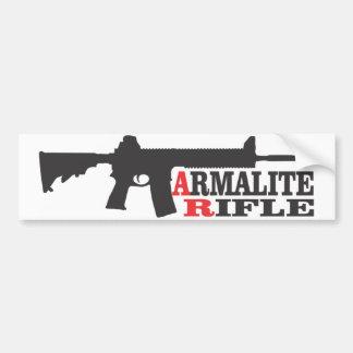 Armaliteのライフル、バンパーステッカー バンパーステッカー