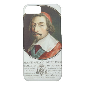 ArmandジーンDuplessis、Duc de Richelieu、(鳥)ショウジョウコウカンチ iPhone 8/7ケース
