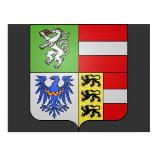 ArmoiriesハプスブルクStyrie、ハンガリー ポストカード