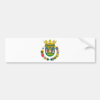 Arms2のセビリア(スペイン)のコート バンパーステッカー