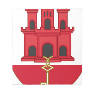 Arms_of_Gibraltar_ (変形) ノートパッド
