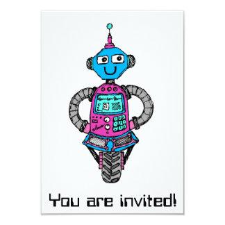 Arnieのロボット: ピンクおよび青 カード