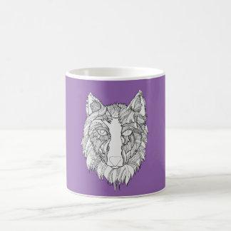 Arnouオオカミ コーヒーマグカップ